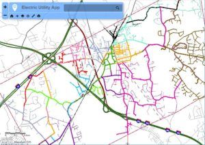Electric Utility Map