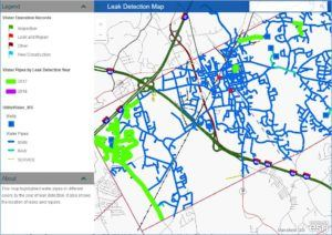 Water Leak Detection Map