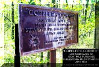 Plaque at Cobbler Corner